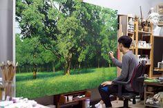 Realistic Nature Paintings by Korean Artist An Jung-Hwan