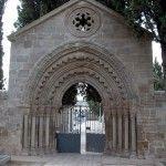 Entrada Cementerio de Logroño.