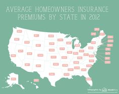 Average Homeowners Insurance Premiums by State – AbodeStory