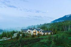 Mountain Modern, Mountain Range, Teton Mountains, Conifer Forest, Teton Village, Pool Houses, Amazing Architecture, Pacific Northwest, Serenity