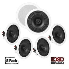 Incorporating a ceiling speaker into your home is considered as a unique way to improve your audio experience. In Wall Speakers, Ceiling Speakers, Home Speakers, Audio In, Speaker System, Surround Sound, Entertainment System, Home Theater, Entertaining