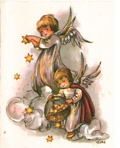 Angel Christmas Card  ♺ Kathy H