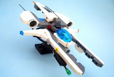 A large fighter used for transport of dangerous criminals. Probably my only build for the Vic Viper event since I've got so many other builds in the process. You'll see those later though. In the mean time view the Full Gallery (When Public)