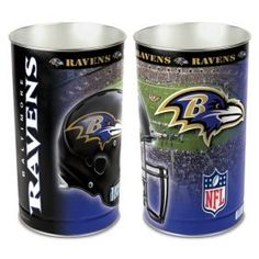 Baltimore Ravens Wastebaskets