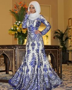 Flawless. @sohamt looking absolutely stunning in our royal blue lace mermaid gown ✨  #festounblacklabel#festoun#dresses#collection#eveningdress#prom#modestfashion#details#chichijab#lacedress#gowns#LA#dubai#wedding#hijabinspiration#hijabstyle#lace#blue#hijab#wedding#longsleevedress#modest#blue#stunning#hijab#adstreetstyle