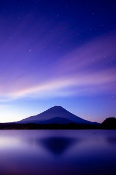 from Lake ShojiMt.Fuji from Lake Shoji Beautiful Sky, Beautiful Landscapes, Beautiful World, Nature Pictures, Beautiful Pictures, Landscape Photography, Travel Photography, Fuji Mountain, Monte Fuji