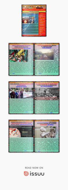 Boletin emancipación obrera n° 614 marzo 10 de 2018  Medio Alternativo Independiente de Noticias, Opinión, Ciencia y Cultura Popular. Libros Gratis, Guillermo Molina Miranda