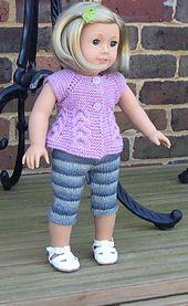 Knitting Pattern # 19 American Girl Doll