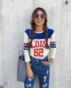 Negin Mirsalehi in Lois Jeans (Northern Europe) Casual Outfits, Cute Outfits, Fashion Outfits, Bbq Outfits, Fashion 2018, 90s Fashion, Lois Jeans, Daily Dress Me, Negin Mirsalehi