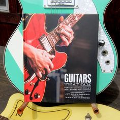 JUST RELEASED TODAY – Guitars that Jam: Portraits of the World's Most Storied Rock Guitars  Guitars that Jam: Portraits of the World's Most Storied Rock Guitars   by Jay Blakesberg Insight Editions 2015, 192 pages, 7 x 8.5 x 0.7 inches  $21 Buy a copy on Amazon  Most of the guitarists, bassists, and mandolin players in photographer Jay Blakesberg's just released gem of a new book, Guitars That Jam: Portraits of the World's Most Storied Rock Guitars, are members of bands that use rock…