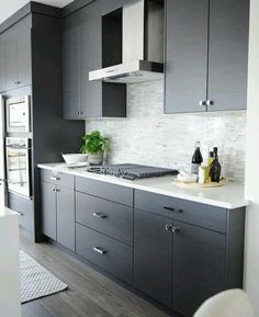 Awesome Plain Front Kitchen Cabinets