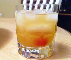 Whisky Sour - INGREDIENTS: Ice cubes - Irish whiskey (Jameson's) - Maraschino cherries - Fresh squeezed lemon juice - Fresh squeezed lime juice - Simple sugar syrup