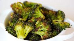 Popcorn Broccoli - a healthy easy snack!