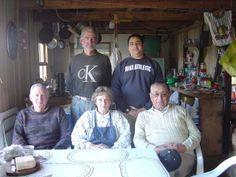 Chepu 2006. Con mis hermanos, Oscar y Mauro.