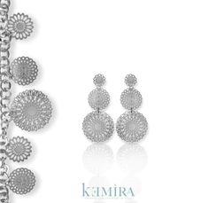 """Lo stile """"retrò"""" squisitamente italiano rende prezioso ed elegante ogni gioiello della collezione. #kemira #bijoux #madeinitaly #accessories #anello #accessori #italy #collezione #orecchini #gioielli #jewels #ricami #collection #stile #gioiello #"""