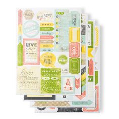 Epic Day This and That Designer Stickers - by Stampin' Up!