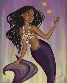 Mermaid - artist unknown