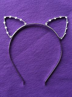 "Taylor Swift ""22"" Music Video Cat Ear Headband With Rhinestones"