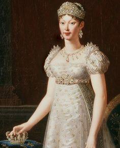 Marie-Louise - Napoleon Bonaparte's 2nd Wife (1810-1821) & mother of his Son (Napoleon II).
