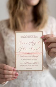 Simple, delicate, romantic wedding invitation with modern calligraphy and touch of twine. Personalized, custom handmade wedding invitations, supplementary wedding stationery and wedding accessories. Wedding cards: Invitations, Save the Dates, Thank You cards and more. Find the perfect design for your special day! The biggest choice for wedding stationery and accessories. Unique designs and affordable prices!