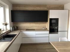 Kitchen Room Design, Kitchen Cabinet Design, Modern Kitchen Design, Home Decor Kitchen, Kitchen Furniture, Kitchen Interior, Home Interior Design, Home Kitchens, Design Moderne