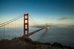 Golden Gate Bridge ﴾San Francisco, California, United States﴿ The suspension bridge over the Golden Gate Strait is three miles long ﴾4.8 km﴿ and links San Francisco Peninsula to Marin County. The symbol of San Francisco, it has been declared one of the Wonders of the Modern World by the American Society of Civil Engineers.