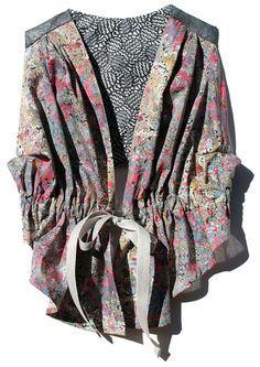 Sewing pattern LITTLE FREDDIE VEST for girls