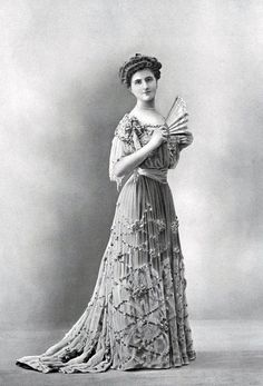 Dinner gown, Paquin, 1903. Photo: Boyer