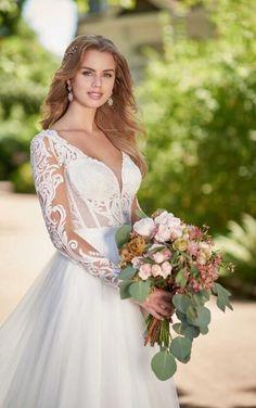 Cooper + Sawyer Whimsical Vintage Wedding Dress Separates by Martina Liana