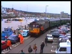 Weymouth Harbour Branch (Quay Tramway) a film by Fred Ivey Weymouth Harbour, Weymouth Beach, Weymouth Dorset, Weymouth England, Diesel Locomotive, Electric Locomotive, Southern Trains, Dorset England, Steam Railway