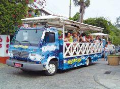 Buzios Trolley Tour #Buzios #Brazil
