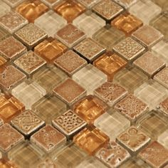 San Luis Glass Mosaic - 12in. x 12in. - 913102501 | Floor and Decor