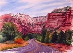 Drawing of Sedona