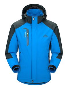 Pin it for later. Find out More snowboarding jackets. Lightweight Jacket: No Fleece Lined waterproof jacket. Prefect for Rock Climbing,Jungle exploring, Hiking, Running, Fishing, Camping and Outdoor Working