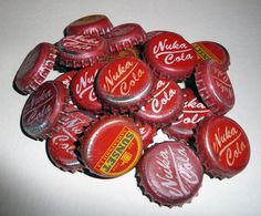 Nuka Cola Bottle Caps by chanced1.deviantart.com on @deviantART