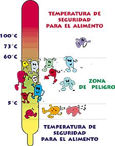 Conservar y preparar nuestros alimentos a las temperaturas adecuadas nos asegura su inocuidad
