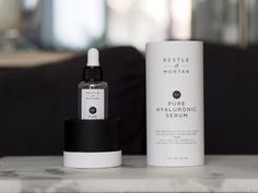 I have a great new product in my beauty cabinet, Pestle & Mortar Pure Hyaluronic Serum, perfect for dehydrated skin. Beauty Blogs, My Beauty, Hyaluronic Serum, Mortar And Pestle, New Product, Skin Care Tips, Anti Aging, Minimalism, Cosmetics
