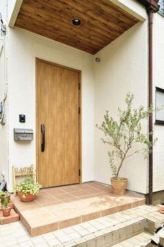 The Best Minimalist Door Design Japanese Door, Japanese House, House Doors, House Entrance, Style At Home, Exterior Doors, Interior And Exterior, Home Room Design, House Design