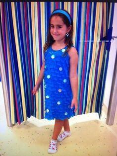 Justice for Girls Blue Dress | eBay