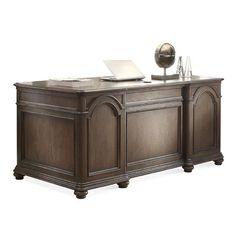 Riverside Furniture Belmeade Executive Desk | Wayfair
