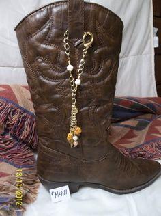 Boot Strap Bangles by SandalBootHandJewels on Etsy, $18.00