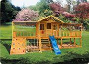 Cubbyhouse kits : Diy Handyman Cubby house : Elevated Cubbies : Sandlewood