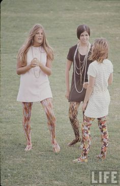 High school fashion feature in Life Magazine (1969).  *** I was only 5 yrs old at the time but I do remember my older sisters dressing like this.  And of course we have the family photo's. ***