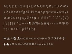 Tótfalusi Sans Serif by Adam Katyi, via Behance