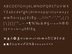 Tótfalusi Sans Serif by Adam Katyi, via Behance