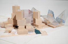 Frank Gehry Architect working model of Guggenheim Abu Dhabi 2007  courtesy of  hoss gifford