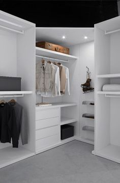 Small Walk In Closet Design Ideas, Pictures, Remodel, and Decor - page 11