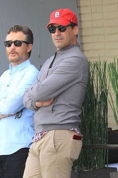 Every tear after Jon Hamm puts his penis away is a waterfall. But take heart, for here's a look back at Jon Hamm's ham's best moments. John Hamm, Timmy T, Muscle Shirts, Cycling Outfit, Headgear, Mad Men, Cute Guys, Sexy Men, Mens Sunglasses