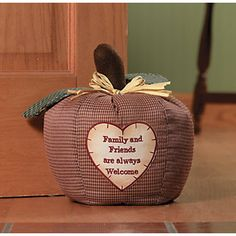 """Family And Friends are Welcome"" Door Stop - Oriental Trading - Discontinued"