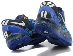 http://www.asneakers4u.com Nike Kobe 8 System Basketball Shoe Snake Blue/Black
